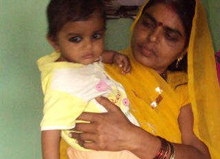 Mother's willingness to adopt of correct feeding practices help revive her children's deteriorating health