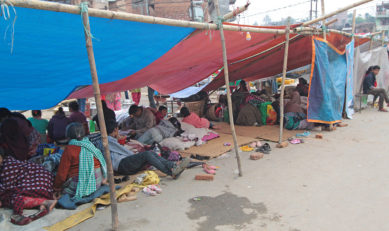 Living in Fear through the second earthquake in Nepal