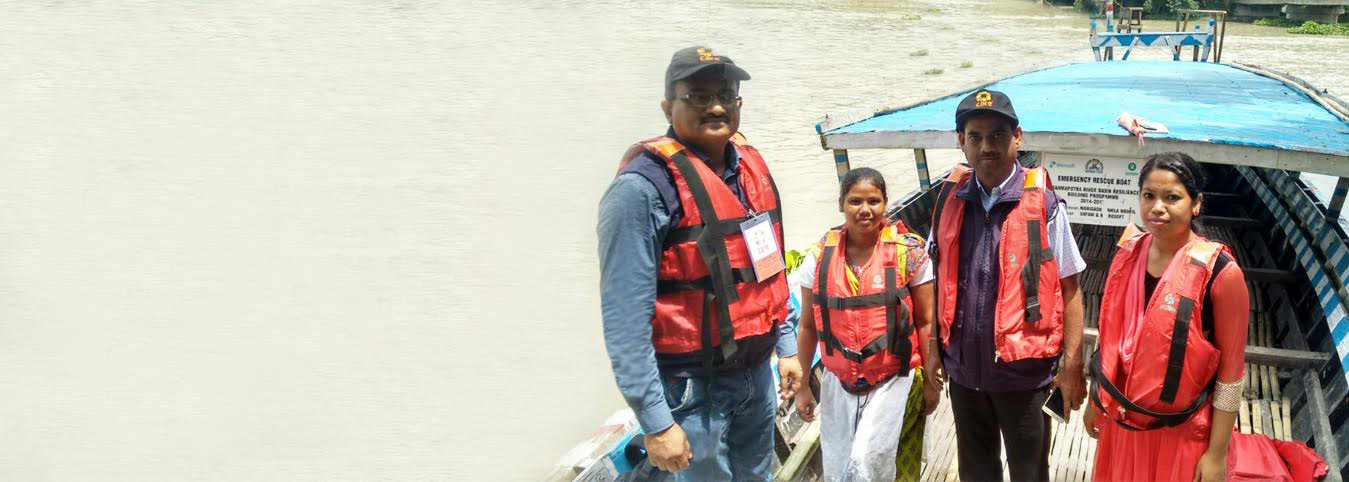 CARE INDIA IS PROVIDING REHABILITATION SUPPORT TO FLOOD SURVIVORS