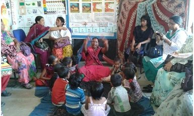Chhatisgarh State Government Staff Visit the Early Childhood Development Project