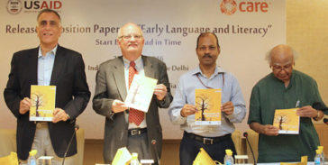 "CARE India releases position paper on ""Early Language and Literacy"""