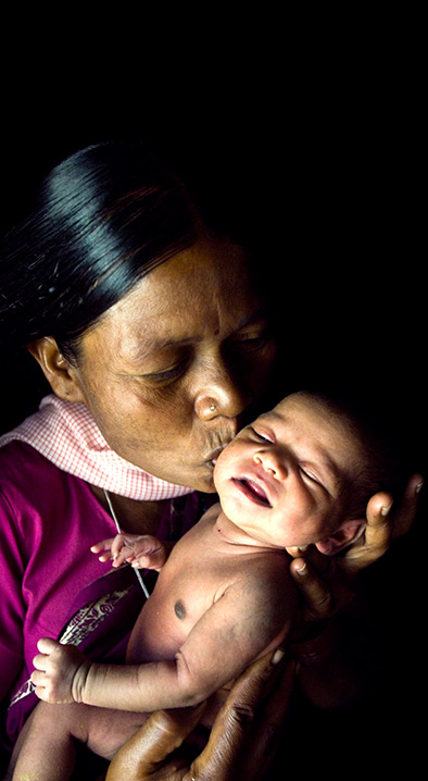 Mother with New Born Baby - Early Childhood Care & Women Health | CARE India