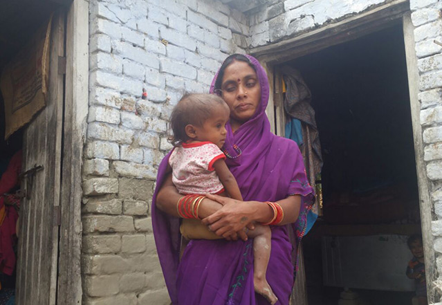 Reena Devi supported by CARE India's Strengthening the Integrated Child Development Services (ICDS) Programme