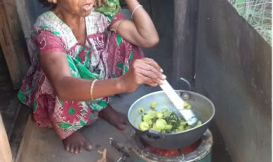 ICS – A helping hand for a woman in her old age