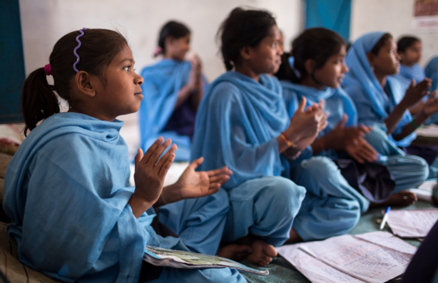 Educating Girls from Marginalised Communities supported by Be the Change Program - CARE India