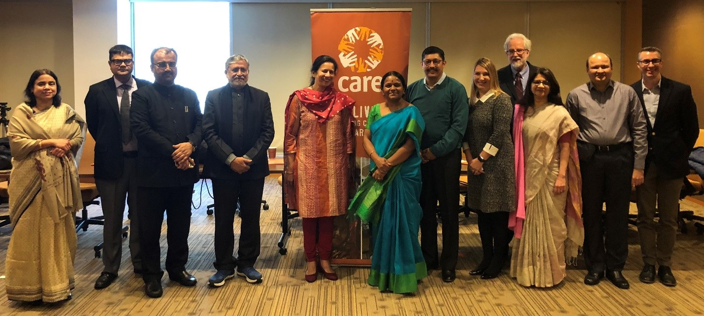 Government of Bihar Leaders meet in Atlanta to Celebrate and Reflect on Achievements from the Bihar Technical Support Program