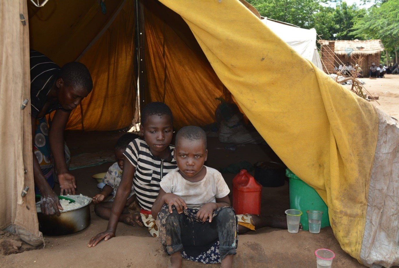 Thousands flock to camps as homes are swept away by floods in Malawi