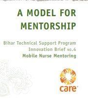 A Model for Mentorship