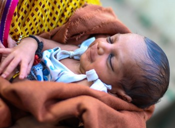 New Born Baby under NEWBORN SURVIVAL – BTSP Program- CARE India