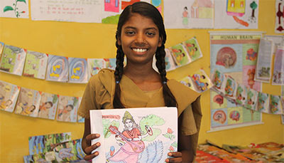 Seema Yadav Supported by Khushi Project: Early Childhood Care and Education (ECCE) - CARE India
