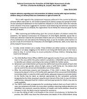COVID-19 Advisory Consolidated