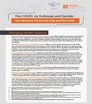 COVID-19 GiHA WG Advocacy Brief