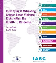 Interagency GBV risk mitigation and Covid tipsheet