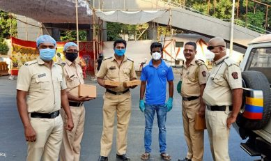 3000 PPE kits distributed in Pune and Mumbai