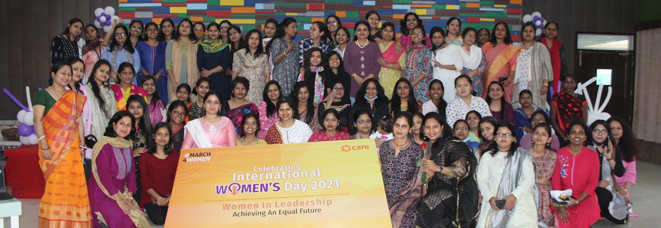 Celebrating Women in Leadership on the International Women's Day 2021