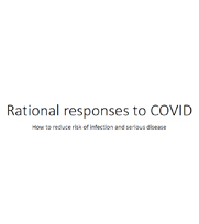 Rational responses to COVID